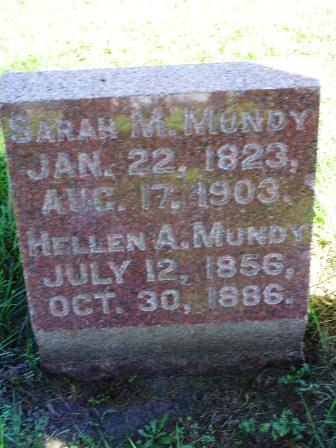 MUNDY, SARAH M - Jones County, Iowa | SARAH M MUNDY