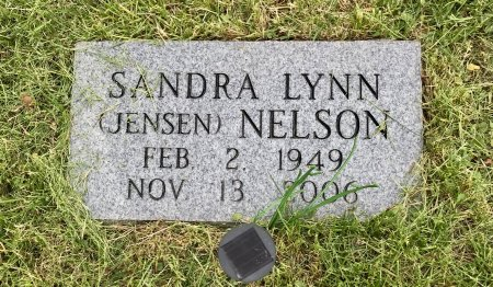 JENSEN NELSON, SANDRA LYNN - Jones County, Iowa | SANDRA LYNN JENSEN NELSON