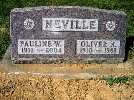 NEVILLE, OLIVER H. - Jones County, Iowa | OLIVER H. NEVILLE