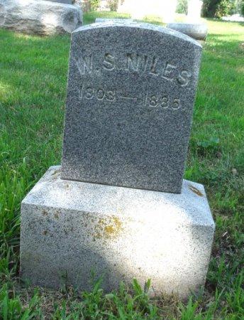 NILES, W. S. - Jones County, Iowa | W. S. NILES