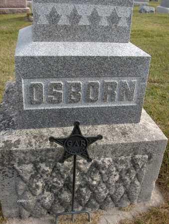 OSBORN, FAMILY MONUMENT - Jones County, Iowa | FAMILY MONUMENT OSBORN