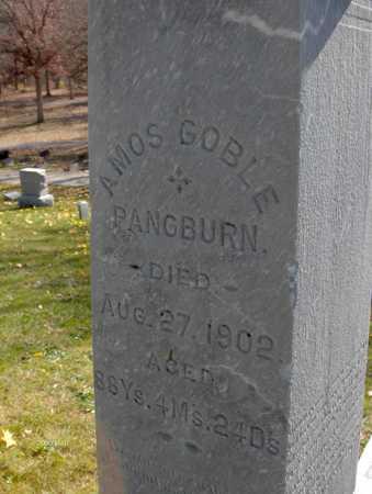 PANGBURN, AMOS GOBLE - Jones County, Iowa | AMOS GOBLE PANGBURN