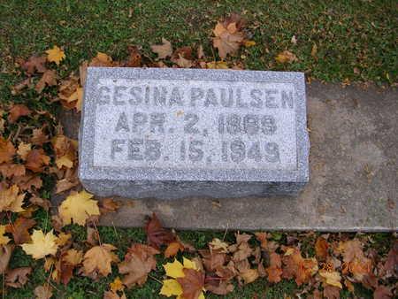 PAULSEN, GESINA - Jones County, Iowa | GESINA PAULSEN