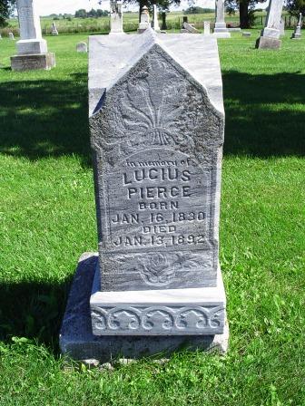 PIERCE, LUCIUS - Jones County, Iowa | LUCIUS PIERCE