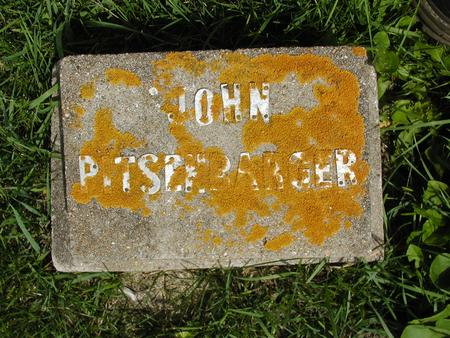 PITSENBARGER, JOHN - Jones County, Iowa | JOHN PITSENBARGER