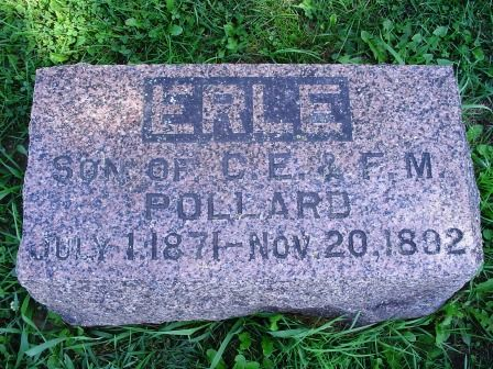 POLLARD, ERLE - Jones County, Iowa   ERLE POLLARD