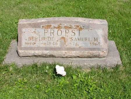PROPST, GERTRUDE - Jones County, Iowa | GERTRUDE PROPST