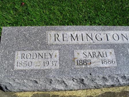REMINGTON, RODNEY - Jones County, Iowa   RODNEY REMINGTON