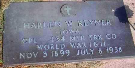 REYNER, HARLEN W. - Jones County, Iowa | HARLEN W. REYNER