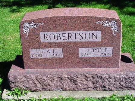 ROBERTSON, LLOUD P - Jones County, Iowa | LLOUD P ROBERTSON
