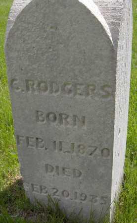 RODGERS, C. - Jones County, Iowa | C. RODGERS