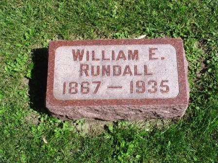 RUNDALL, WILLIAM E - Jones County, Iowa | WILLIAM E RUNDALL