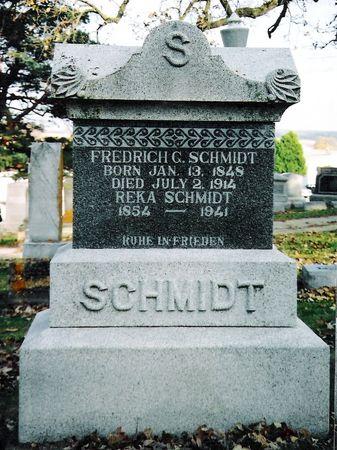 SCHMIDT, REKA - Jones County, Iowa   REKA SCHMIDT