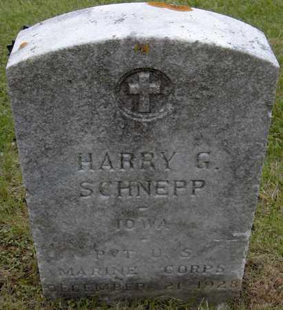 SCHNEPP, HARRY G. - Jones County, Iowa | HARRY G. SCHNEPP