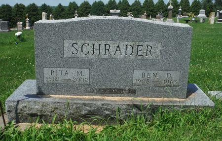 RILEY SCHRADER, RITA M. - Jones County, Iowa | RITA M. RILEY SCHRADER