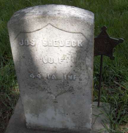 SHEDEK, JOSEPH - Jones County, Iowa | JOSEPH SHEDEK