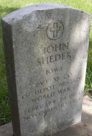 SHEDEK, PVT. JOHN - Jones County, Iowa | PVT. JOHN SHEDEK