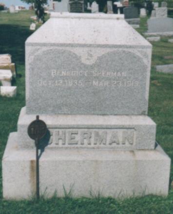 SHERMAN, BENEDICT - Jones County, Iowa | BENEDICT SHERMAN