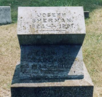 SHERMAN, JOSEPH W. - Jones County, Iowa | JOSEPH W. SHERMAN