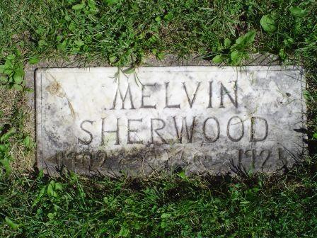 SHERWOOD, MELVIN - Jones County, Iowa   MELVIN SHERWOOD