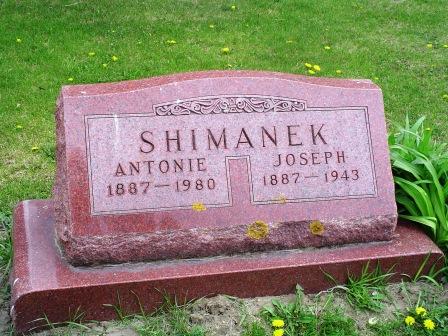 SHIMANEK, JOSEPH - Jones County, Iowa   JOSEPH SHIMANEK