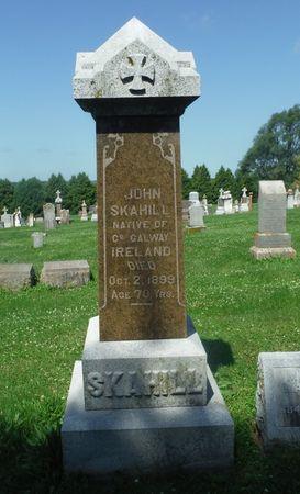 SKAHILL, JOHN - Jones County, Iowa   JOHN SKAHILL