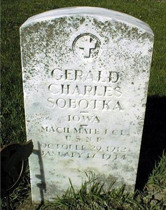 SOBOTKA, GERALD CHARLES - Jones County, Iowa | GERALD CHARLES SOBOTKA