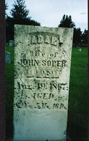 BRUNDAGE SOPER, ADAH - Jones County, Iowa | ADAH BRUNDAGE SOPER