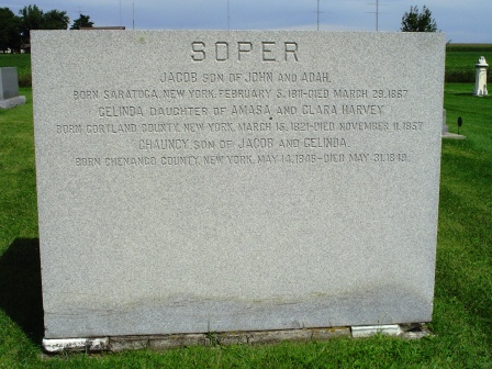 SOPER, JACOB - Jones County, Iowa   JACOB SOPER