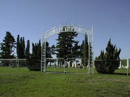 ST. JOHN'S EVANGELICAL LUTHERA, CEMETERY - Jones County, Iowa | CEMETERY ST. JOHN'S EVANGELICAL LUTHERA