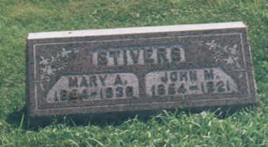 STIVERS, JOHN  M. - Jones County, Iowa | JOHN  M. STIVERS