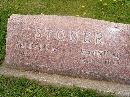 STONER, MILDRED A - Jones County, Iowa | MILDRED A STONER