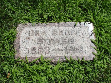 STONER, ORA - Jones County, Iowa   ORA STONER