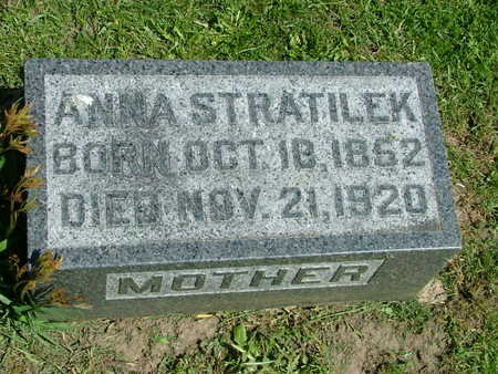 STRATILEK, ANNA - Jones County, Iowa | ANNA STRATILEK