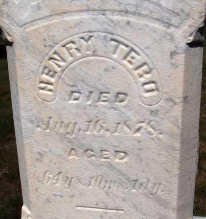 TEBO, HENRY - Jones County, Iowa | HENRY TEBO