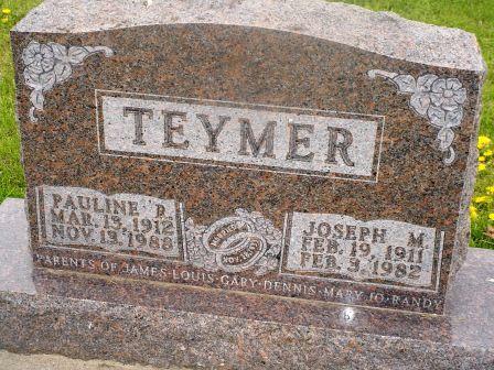 TEYMER, JOSEPH M - Jones County, Iowa | JOSEPH M TEYMER
