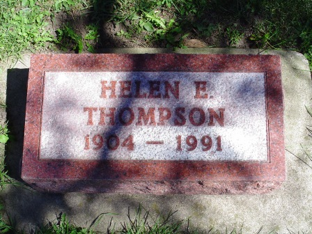 THOMPSON, HELEN E - Jones County, Iowa | HELEN E THOMPSON