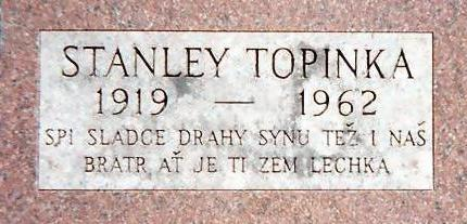 TOPINKA, STANLEY - Jones County, Iowa | STANLEY TOPINKA