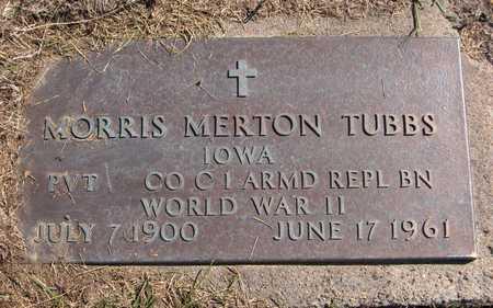 TUBBS, MORRIS MERTON - Jones County, Iowa | MORRIS MERTON TUBBS