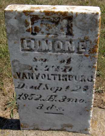 VON VOLTINBURG, LUMON E. - Jones County, Iowa   LUMON E. VON VOLTINBURG