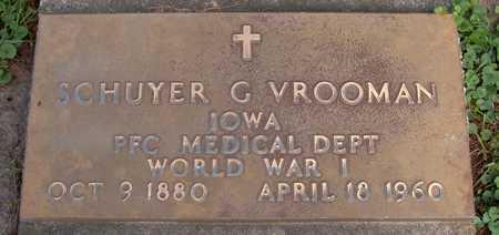 VROOMAN, SCHUYER G. - Jones County, Iowa | SCHUYER G. VROOMAN