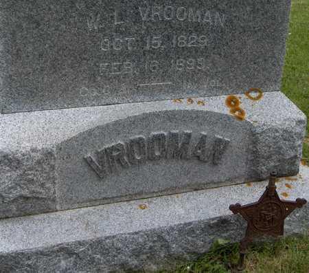 VROOMAN, W.L. - Jones County, Iowa   W.L. VROOMAN