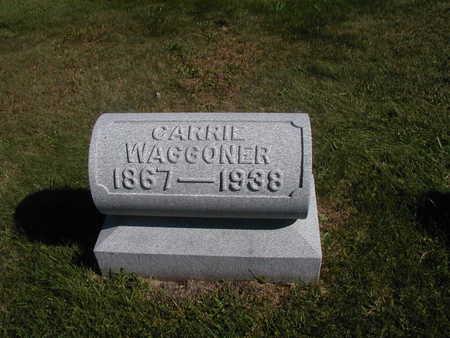 WAGGONER, CARRIE - Jones County, Iowa | CARRIE WAGGONER