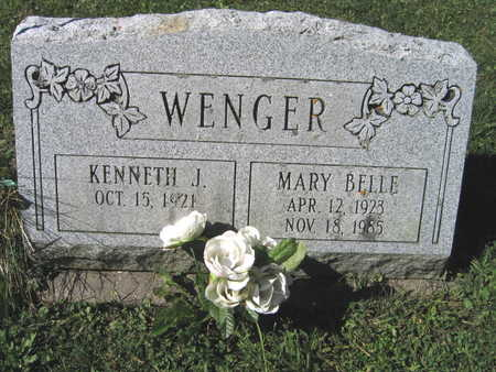 WENGER, MARY BELLE - Jones County, Iowa | MARY BELLE WENGER