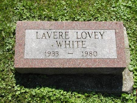 WHITE, IRVINE LAVERE