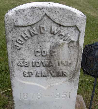 WHITE, JOHN D. - Jones County, Iowa | JOHN D. WHITE