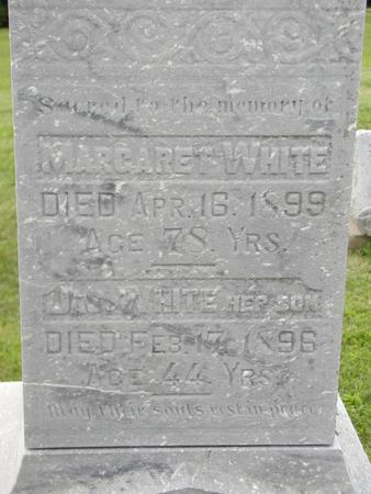 WHITE, JAMES W - Jones County, Iowa | JAMES W WHITE