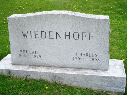 WIEDENHOFF, CHARLES - Jones County, Iowa | CHARLES WIEDENHOFF