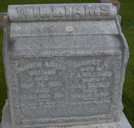 WILLIAMS, HARRIET S. - Jones County, Iowa | HARRIET S. WILLIAMS