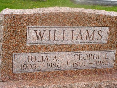 WILLIAMS, GEORGE L - Jones County, Iowa | GEORGE L WILLIAMS
